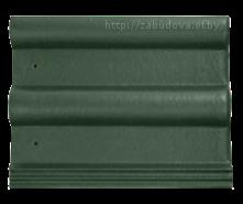 Тёмно-зелёная черепица