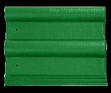 Зеленая черепица
