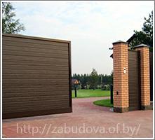 Уличные въездные ворота